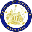 county of Riverside Seal